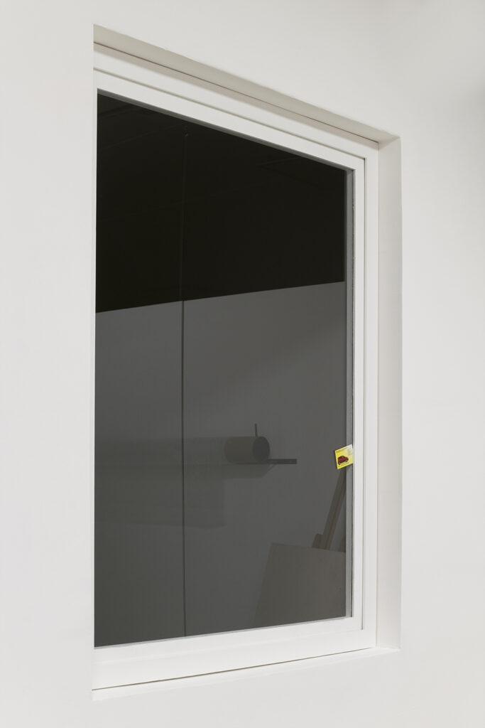 porta e finestra, spazio in situ