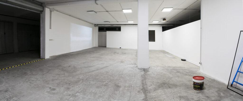 in da place, spazio in situ